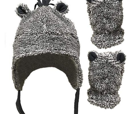 N'Ice Caps Little Boys and Baby Sherpa Lined Fleece Hat Mitten Set with Ears Review