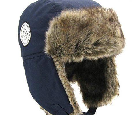 Boys Winter Hats Big Kids Nylon Russian/Aviator Winter Earflap Cap Review