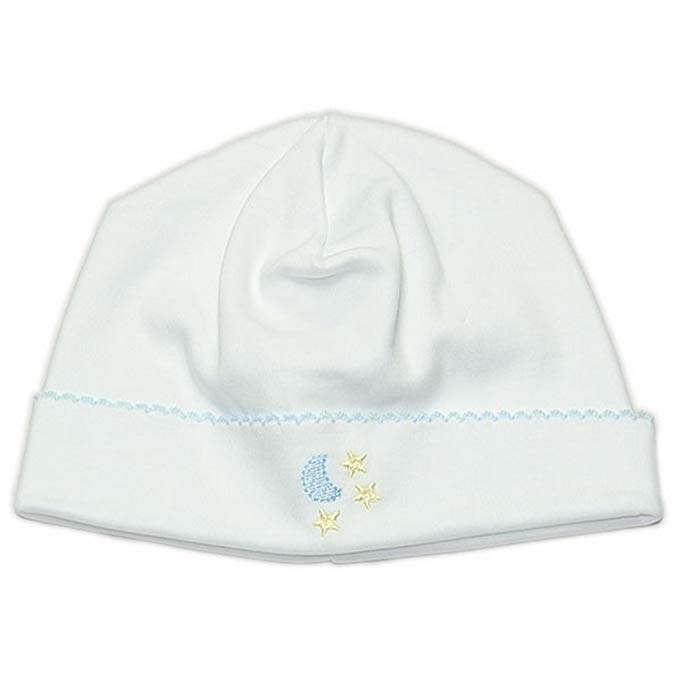 Kissy Kissy Baby Boys Homeward Bound Moon And Stars Embroidered Hat
