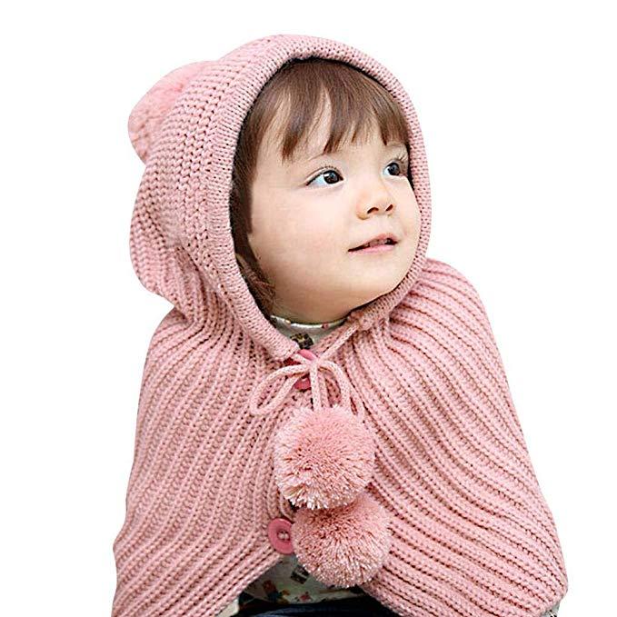 Lean In Baby Toddler Kids Cute Hat Wool Knitted Winter Warm Earflap Hats - 2018 Best Gift in USA