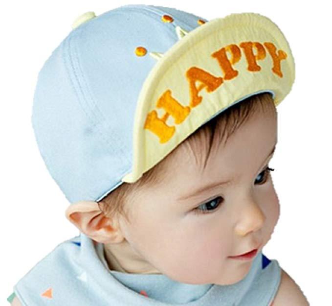 Cedon Baby Boys' Hat Spring Summer With Brim Sunshade Reduced UV Sunburn