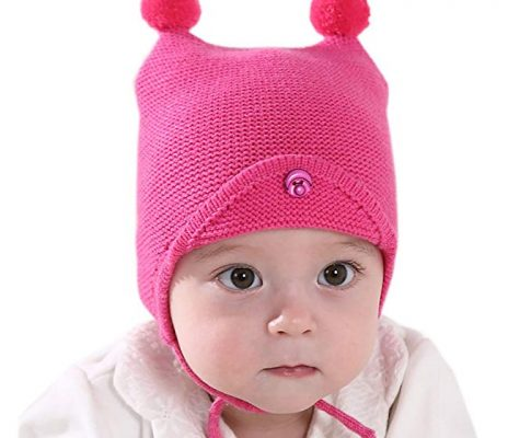ivya Adorable Baby Kid's Warm Fall Winter Hat Ear Protected Knitted Contton Hat For Girls Boys Review