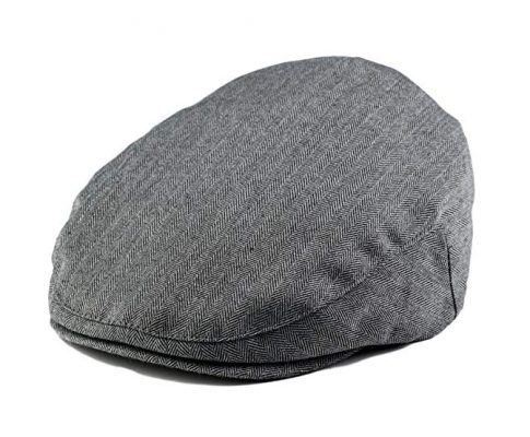 Born to Love – Baby Boy's Hat Grey Herringbone Driver Page Boy Cap Review
