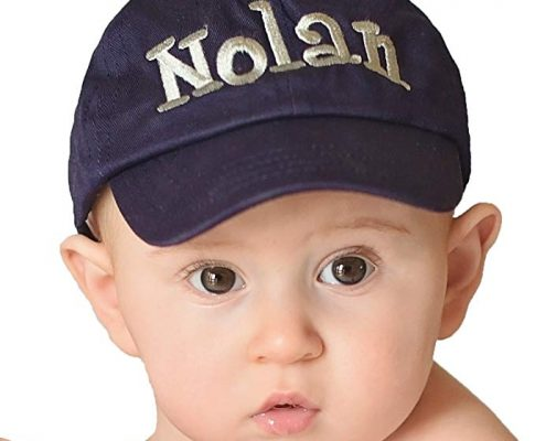 Melondipity Personalized Baby Baseball Hat for Baby Boys 0-7 months Review