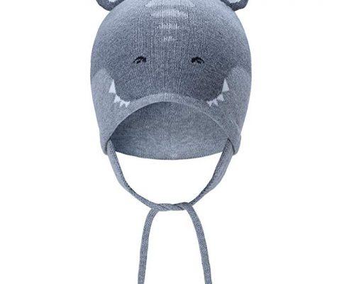 vivobiniya Toddler Baby Boy Animal Modeling Little Tiger Earflap Hats 0-4years Old Review