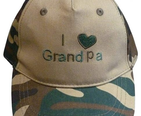N'Ice Caps Baby and Toddler I Love Grandpa/Grandma Embroidered Ball Caps Review