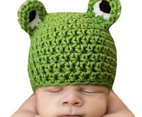Melondipity Boys Mr. Froggy Green Crochet Baby Hat – Quality Handmade Beanie Review